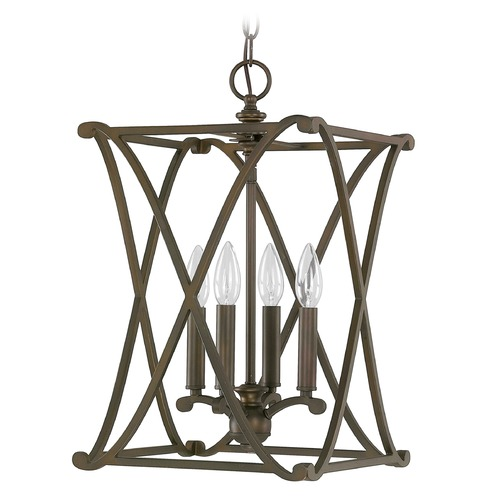 Capital Lighting Capital Lighting Alexander Burnished Bronze Pendant Light 9691BB