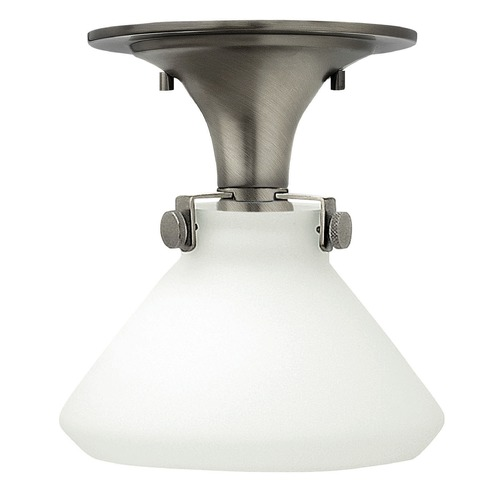 Hinkley Lighting Hinkley Lighting Congress Antique Nickel LED Flushmount Light 3140AN-LED