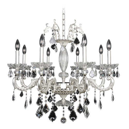 Allegri Lighting Casella 8 Light Crystal Chandelier 024756-017-FR001