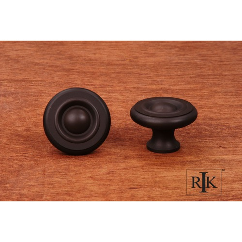 RK International Large Solid Georgian Knob CK4243RB