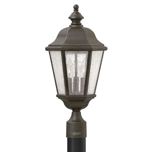 Hinkley Oil Rubbed Bronze LED Post Light 3 Lt 21.25 Inches Tall by Hinkley 1671OZ-LL