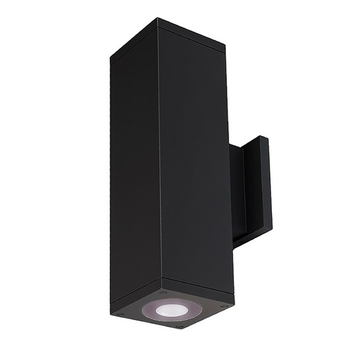 WAC Lighting Wac Lighting Cube Arch Black LED Outdoor Wall Light DC-WD06-U840B-BK