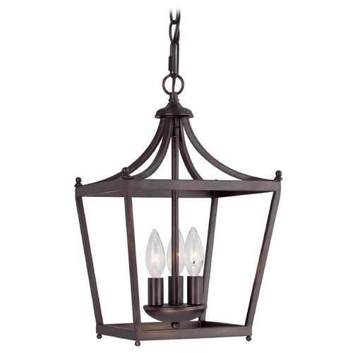 Capital Lighting Capital Lighting Burnished Bronze Pendant Light 4036BB