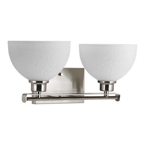 Progress Lighting Progress Lighting Legend Brushed Nickel Bathroom Light P2088-09