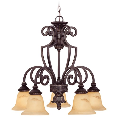 Savoy House Savoy House Antique Copper Chandelier 1P-50219-5-16