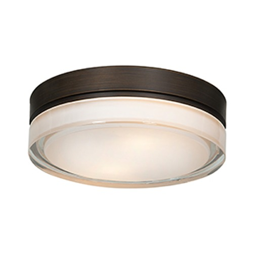 Access Lighting Access Lighting Solid Bronze LED Flushmount Light 20775LEDD-BRZ/OPL
