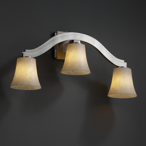 Justice Design Group Justice Design Group Clouds Collection Sconce CLD-8976-20-NCKL