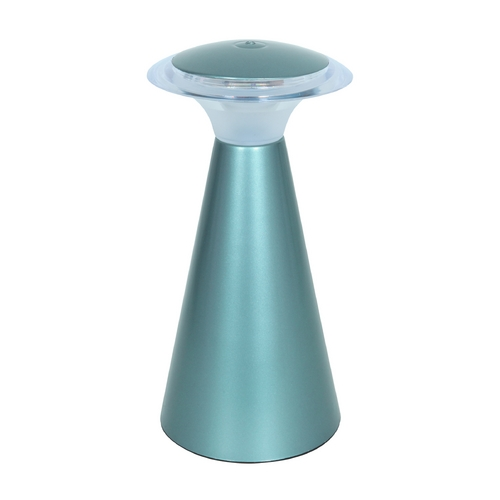 Access Lighting Access Lighting Tut Chi Acrylic / Powder Blue LED Accent Lamp 70007LED-PBLU/ACR