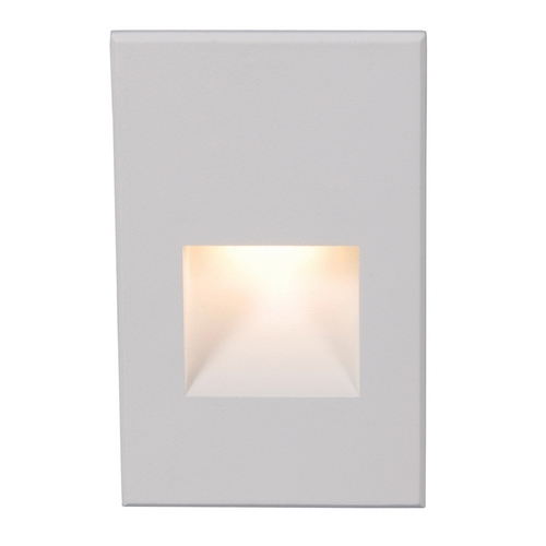 WAC Lighting Wac Lighting White LED Recessed Step Light WL-LED200-C-WT