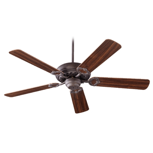 Quorum Lighting Quorum Lighting Monticello Toasted Sienna Ceiling Fan Without Light 17525-44