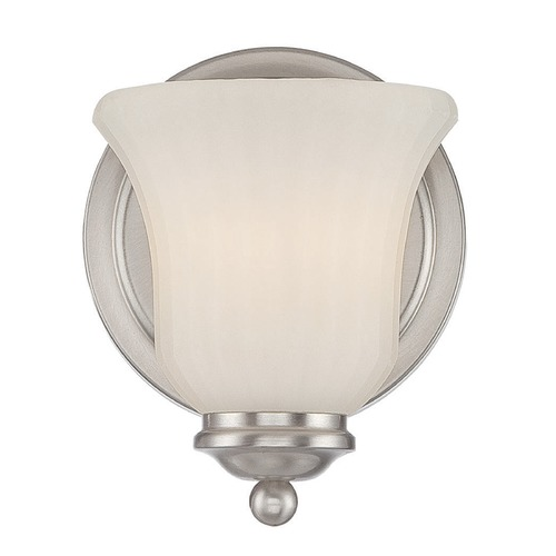 Savoy House Savoy House Lighting Mercer Satin Nickel Sconce 9-470-1-SN