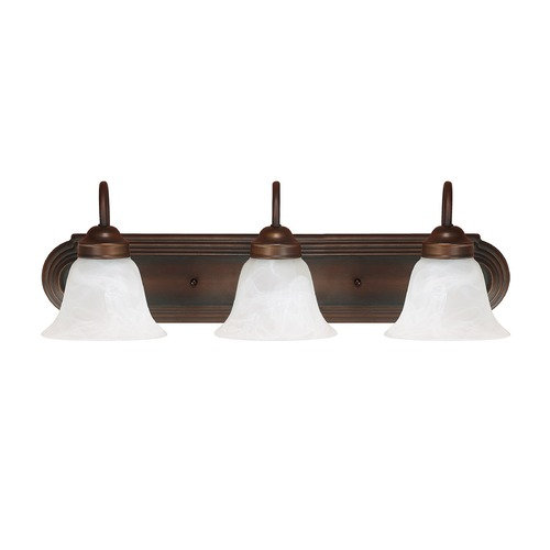 Capital Lighting Capital Lighting Burnished Bronze Bathroom Light 1033BB-118