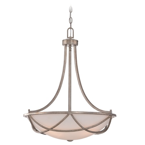 Quoizel Lighting Quoizel Milbank Vintage Gold Pendant Light MBK2820VG