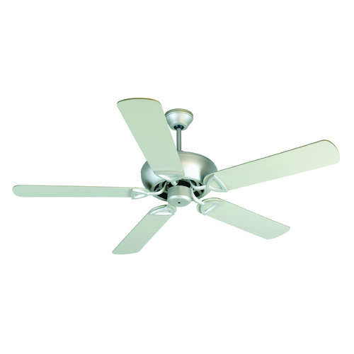 Craftmade Lighting Craftmade Lighting Leeward Brushed Satin Nickel Ceiling Fan Without Light K10520