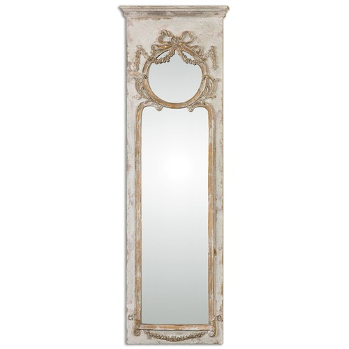 Uttermost Lighting Uttermost Casella Antiqued Ivory Wall Mirror 12901