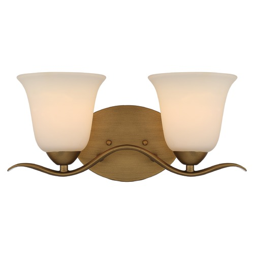 Nuvo Lighting Nuvo Lighting Dillard Natural Brass Bathroom Light 60/5812