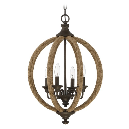 Savoy House Rust Pendant Light Findlay Collection by Savoy House 7-9215-4-32