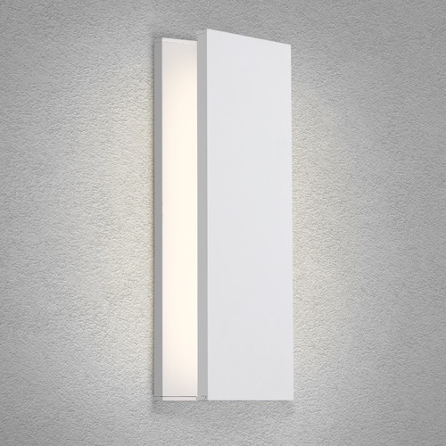 Modern Forms by WAC Lighting Modern Forms I Beam White LED Sconce 3000K 1022LM WS-94620-WT