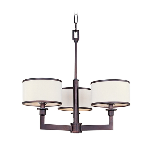 Maxim Lighting Mid-Century Modern Mini-Chandelier Oil Rubbed Bronze Nexus by Maxim Lighting 12054WTOI