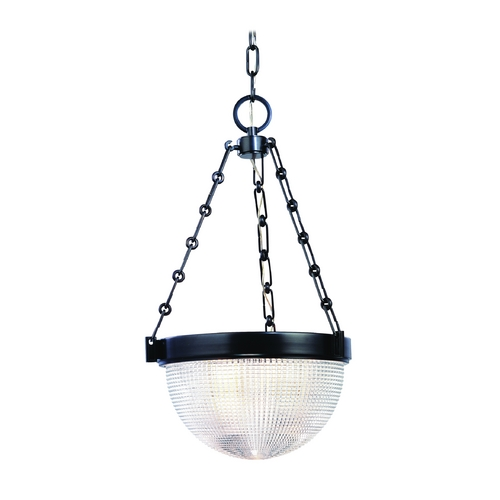 Hudson Valley Lighting Pendant Light with Clear Glass in Old Bronze Finish 4413-OB