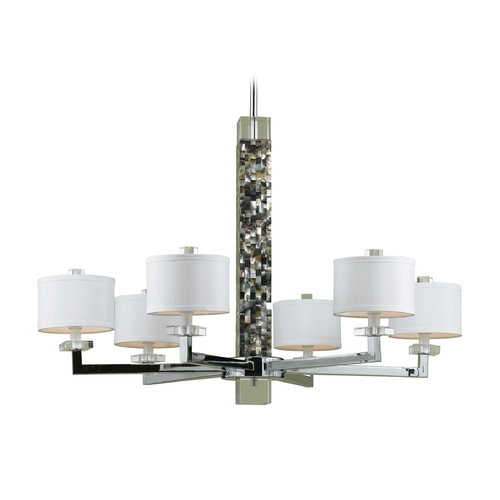 AF Lighting Sahara Chandelier 7455-6H