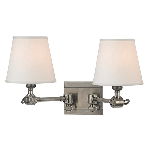 Hudson Valley Lighting Hudson Valley Lighting Hillsdale Historic Nickel Swing Arm Lamp 6232-HN