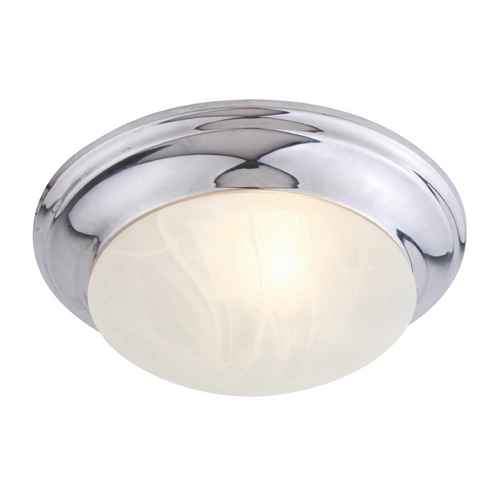 Livex Lighting Livex Lighting Omega Chrome Flushmount Light 7302-05