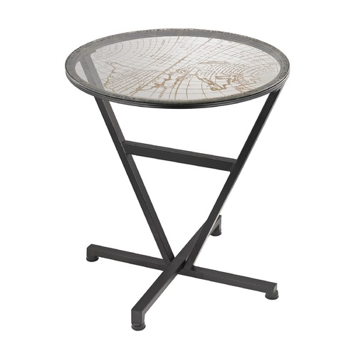 Sterling Lighting World Map Table 51-032