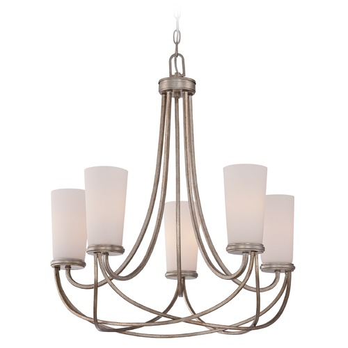 Quoizel Lighting Quoizel Milbank Vintage Gold Chandelier MBK5005VG
