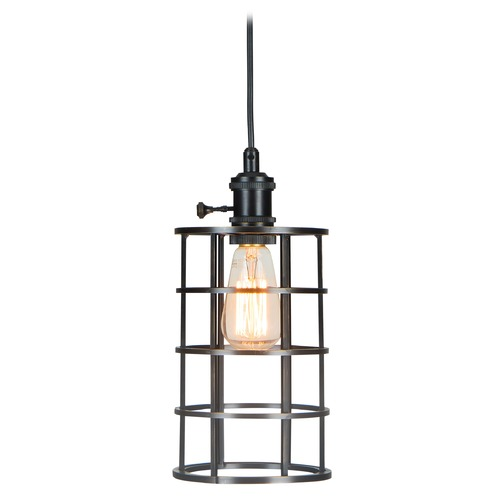 Jeremiah Lighting Jeremiah Lighting Aged Bronze Mini-Pendant Light KPMK100-ABZ