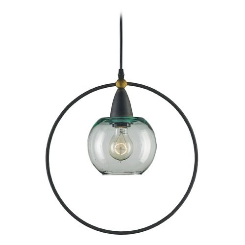 Currey and Company Lighting Currey and Company Moorsgate Blacksmith / Old Brass Pendant Light 9233