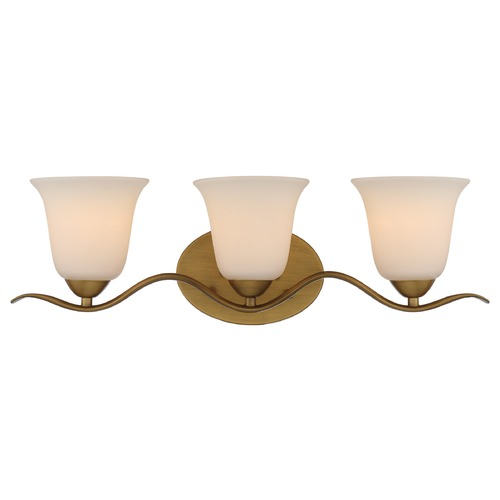 Nuvo Lighting Nuvo Lighting Dillard Natural Brass Bathroom Light 60/5813
