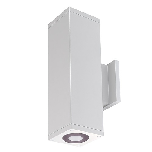 WAC Lighting Wac Lighting Cube Arch White LED Outdoor Wall Light DC-WD06-U840B-WT