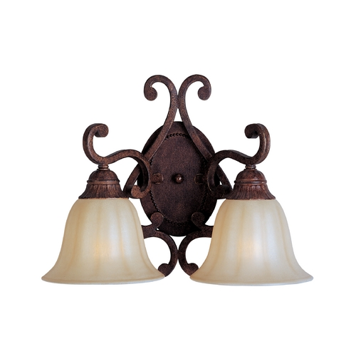 Maxim Lighting Maxim Lighting Augusta Auburn Florentine Sconce 13572CFAF