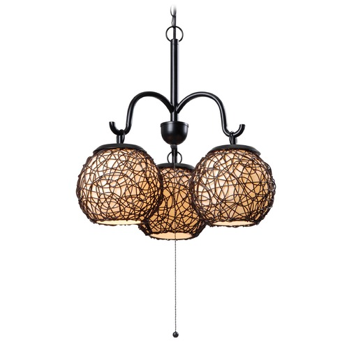 Kenroy Home Lighting Kenroy Home Lighting Castillo Bronze Outdoor Chandelier 93403BRZ