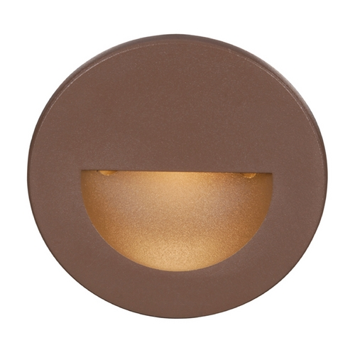 WAC Lighting Wac Lighting Bronze LED Recessed Step Light WL-LED300-C-BZ
