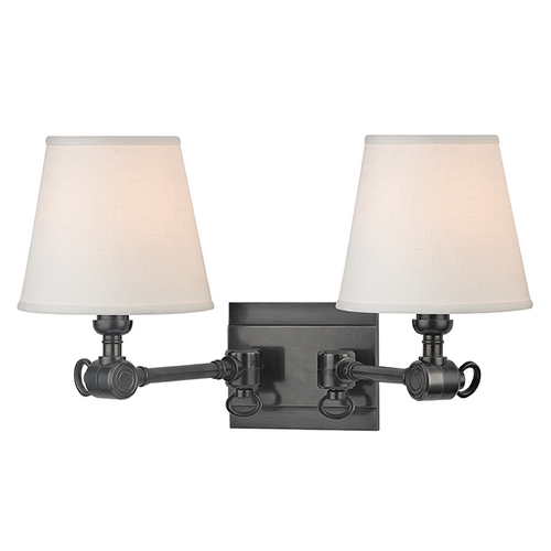 Hudson Valley Lighting Hudson Valley Lighting Hillsdale Old Bronze Swing Arm Lamp 6232-OB