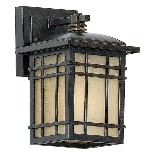 Quoizel Lighting Quoizel Hillcrest Imperial Bronze Outdoor Wall Light HC8506IBFL