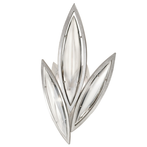 Fine Art Lamps Fine Art Lamps Marquise Platinized Silver Leaf Sconce 854250-11ST