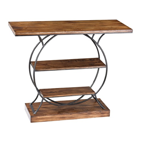 Sterling Lighting Wood And Metal Console 138-113