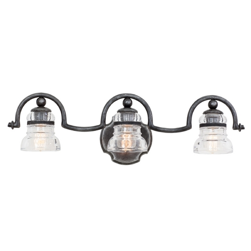 Kalco Lighting Kalco Lighting Hemmingray Vintage Iron Bathroom Light 7173VI
