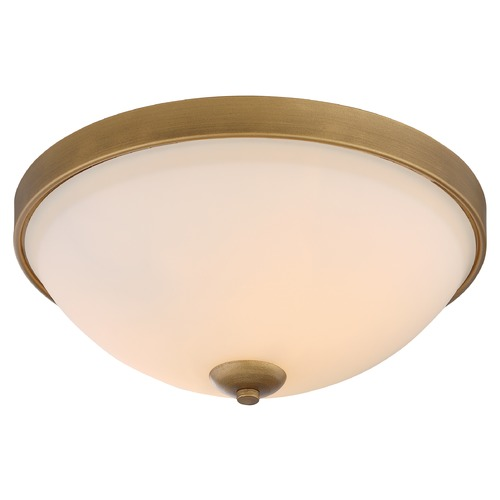 Nuvo Lighting Nuvo Lighting Dillard Natural Brass Flushmount Light 60/5814