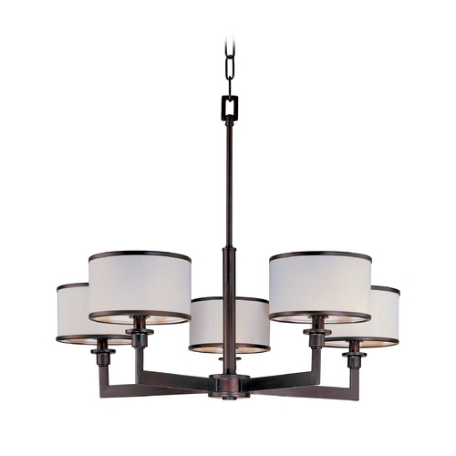 Maxim Lighting Maxim Lighting Nexus Oil Rubbed Bronze Chandelier 12055WTOI