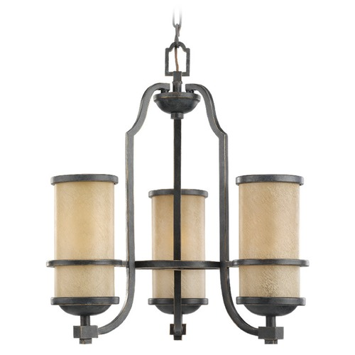 Sea Gull Lighting Sea Gull Lighting Roslyn Flemish Bronze Mini-Chandelier 31520BLE-845