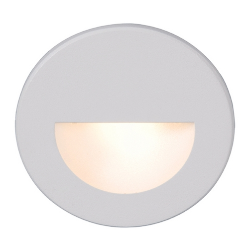 WAC Lighting Wac Lighting White LED Recessed Step Light WL-LED300-C-WT