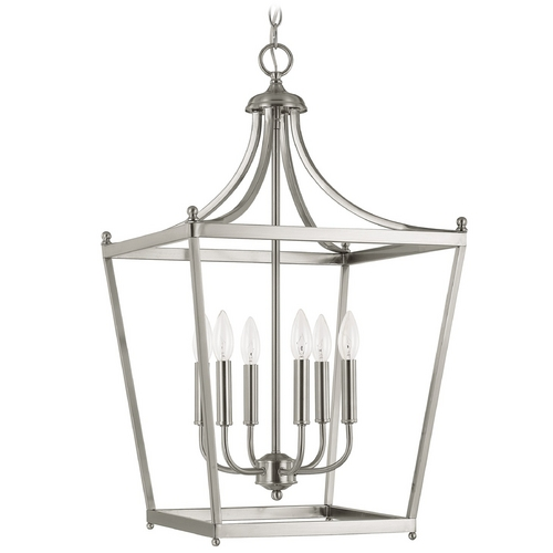 Capital Lighting Capital Lighting Brushed Nickel Pendant Light 9552BN