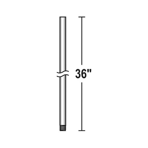 Savoy House Savoy House Lighting Downrod Silver Dust Fan Downrod DR-36-272