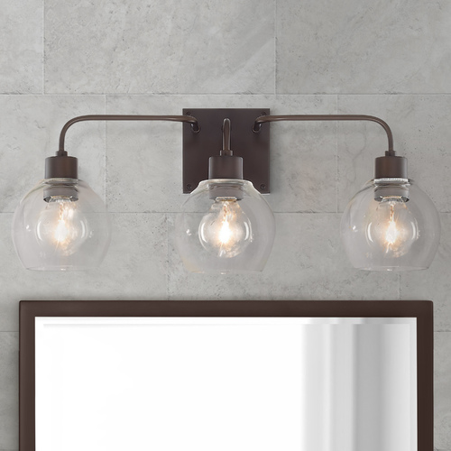 HomePlace by Capital Lighting Homeplace By Capital Lighting Tanner Bronze Bathroom Light 120031BZ-426