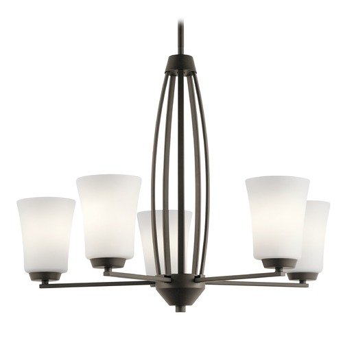 Kichler Lighting Transitional Chandelier Olde Bronze Tao by Kichler Lighting 44051OZ