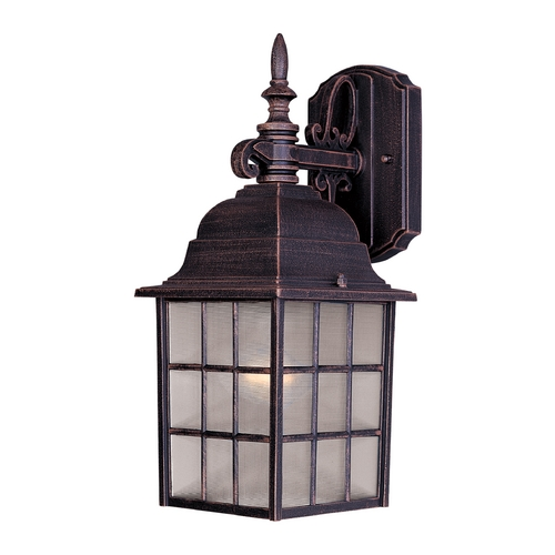 Maxim Lighting Maxim Lighting North Church Rust Patina Outdoor Wall Light 1051RP